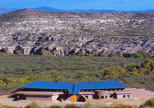 Yavapai-Apache Cultural Resource Center, designed by architect Jeffrey L. Zucker, LEED-AP AIA of Catalyst Architecture, Camp Verde, AZ